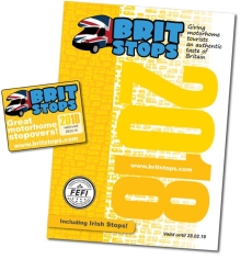 Britstops 2018 Edition - Over 900 Motorhome Stopovers listed
