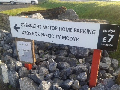 Burry Port motorhome parking